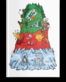 Pakiet webinary+ ebook: Emocjonalna Góra: strefy regulacji emocji dla dzieci, dorosłych i młodzieży