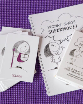 Poznaj swoje supermoce! Jak budować u dzieci pozytywną motywację? Program rozwojowy dla rodziców, nauczycieli i dzieci